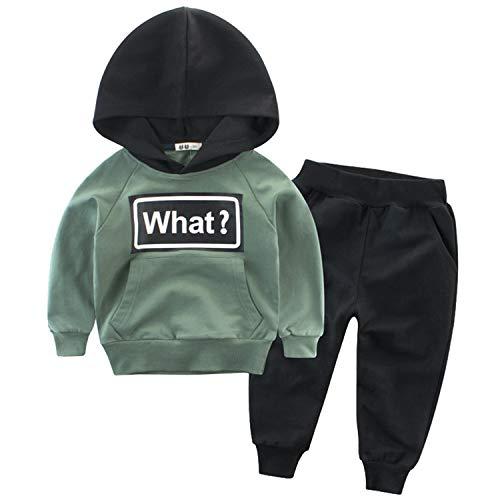 Snyemio Trainingsanzug Jungen Jogginganzug Kapuzenpullover Anzug Sweatshirt & Hosen Set Sportanzug Kleidungssätze 2-7 Jahre