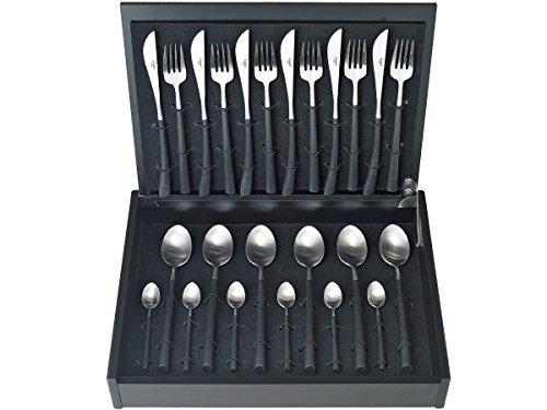 ASA 32000/950 Cutipol 24-teilig Besteck-Set Noor im Besteckkasten je 6X Messer, Gabel, Löffel und Kaffeelöffel