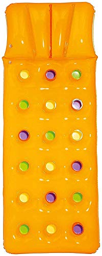 Bestway Luftmatratze Color Lounge, 188 x 71 cm (1 Matratze, Orange)