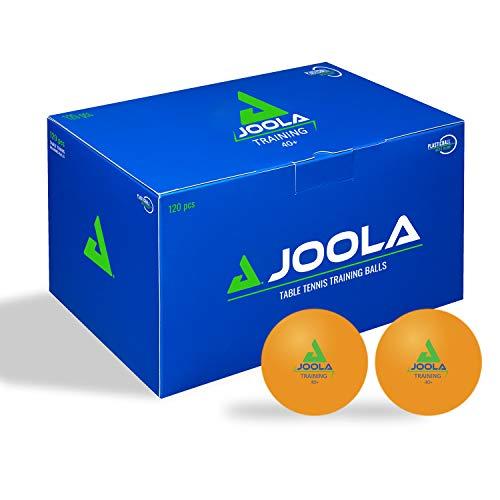 JOOLA Unisex– Erwachsene Training 40+ Tischtennisbälle, 120er Orange, One-Size