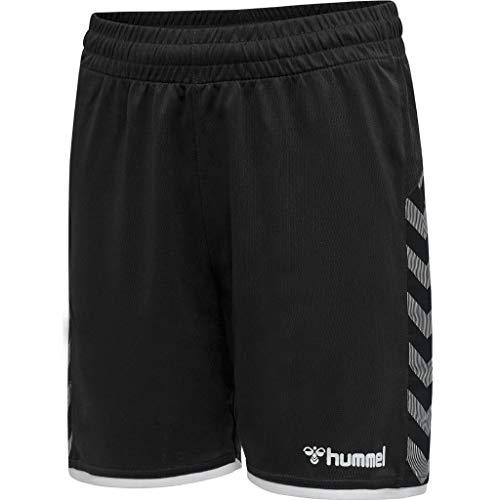 Hummel Jungen hmlAUTHENTIC Kids Poly Shorts, Black/White, 164