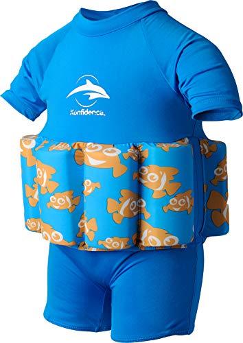 Konfidence Badeanzug mit Schwimmhilfe 2-3 Jahre Blau - Clownfish