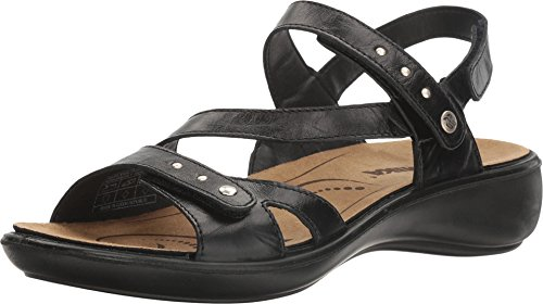 Romika Damen Ibiza 70 Kleid Sandale, schwarz, 38.5/39 EU