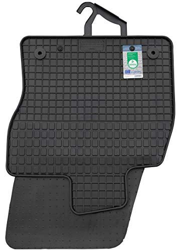 PETEX Gummimatten passend für Golf Sportsvan ab 05/2014 Fußmatten schwarz 4-teilig