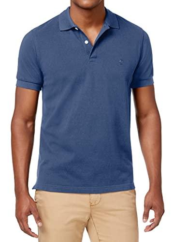 Brooks Brothers Herren 100088185-411 Polohemd, Blau (Navy), Small