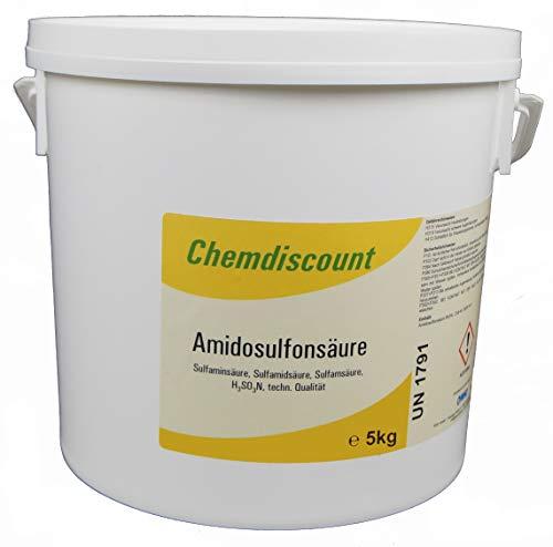 5kg Amidosulfonsäure (>99,8%) Sulfaminsäure Entkalker Kalkentferner
