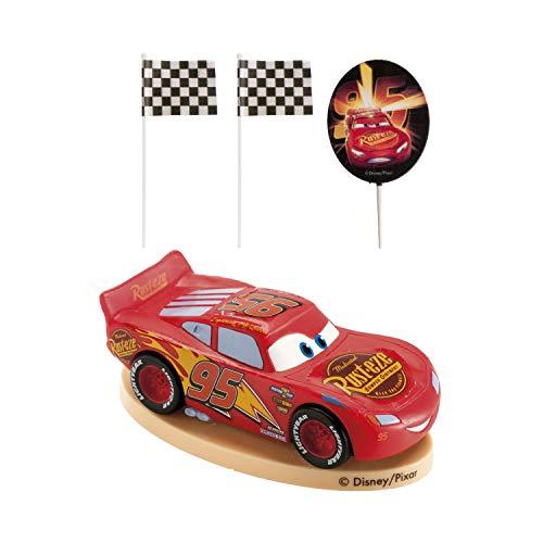 Dekora 1 - Lightning McQueen Figuren für Torte