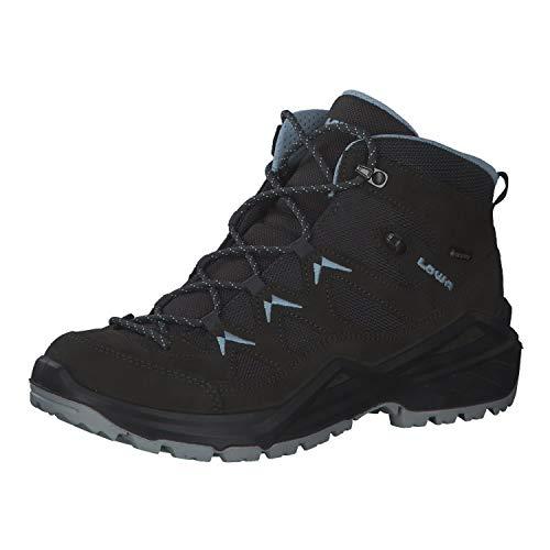 Lowa Damen Boots Sirkos Evo GTX MID Wanderschuh kombi blau Gr. 40,5