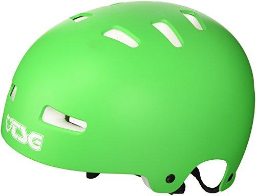 TSG Helm Evolution Solid Color, Grün (Flat Lime Grün), L/XL, 75046