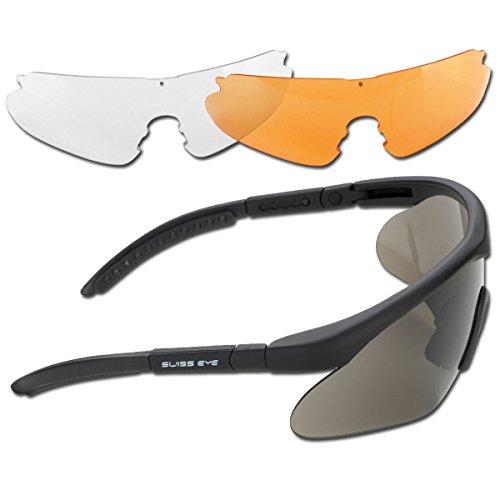 Mil-Tec Sportbrille, Rubber Black, one Size