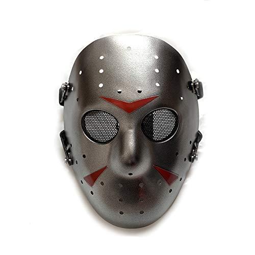 WorldShopping4U Stilvolle Jason Horror Terror Hockey Maske Furchtsame Halloween Maske Partei Maske DE