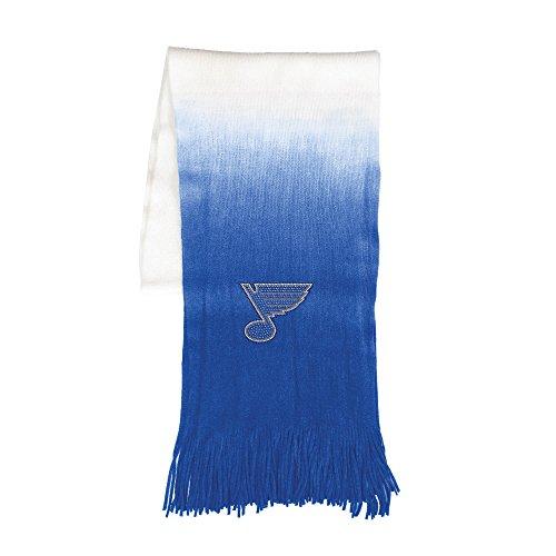 Littlearth Damen NHL Ombre Fashion Scarf St. Louis Blues Dip Dye Schal, Teamfarbe, One Size Fits Most Fans