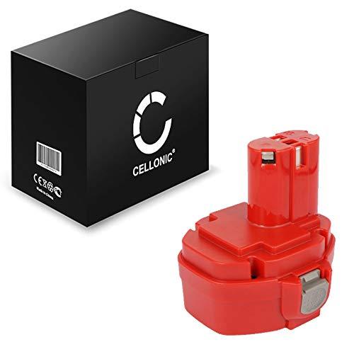 CELLONIC® Akku 14.4V, 3Ah, NiMH kompatibel mit Makita BMR100, 6281D, 6337D, 6280D, 6271DWAE, 6347D, 6339D Ersatzakku 1434, 1422, 193060-0, 1420, 193101-2, 1435, 1433 Batterie Werkzeugakku