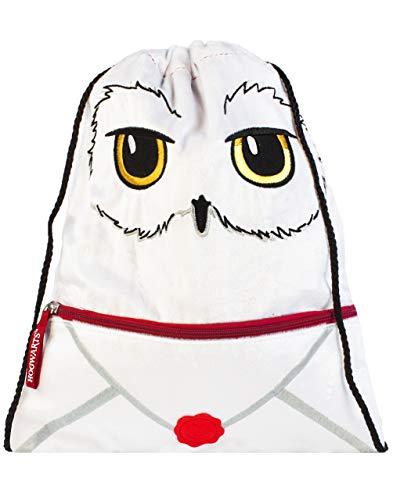 Harry Potter Swim Bag Hedwig Eule Lieferung Plüsch Kordelzug Rucksack Einheitsgröße
