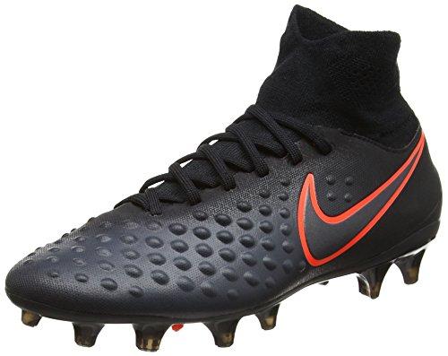Nike Unisex Magista Obra II FG Fußballschuhe, Schwarz (Black/Total Crimson), 36 EU