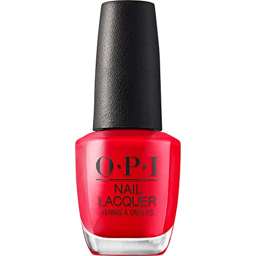 OPI Nail Lacquer - Nagellack in Rottönen mit bis zu 7 Tagen Halt - Ergiebig, langlebig & splitterfest – 15ml