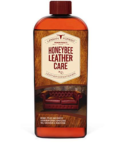 URBAN FOREST Lederöl zur Lederpflege von Sattel- & Zaumzeug I Schützt & pflegt als Le-derpflegemittel Autositze Möbel Schuhe Taschen I Premium Leder Condi-tioner Leder-Öl Honey Leather Oil