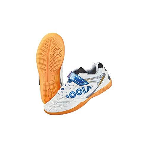 JOOLA Schuh Pro Junior 17 +1 Paar Socken gratis Optionen 35, weiß/blau