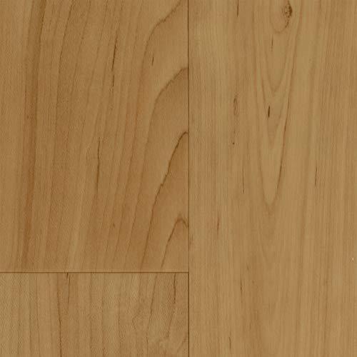 PVC Vinyl-Bodenbelag in Ahorn Beige | Muster PVC-Belag | CV-Boden wird in benötigter Größe als Meterware geliefert | rutschhemmend