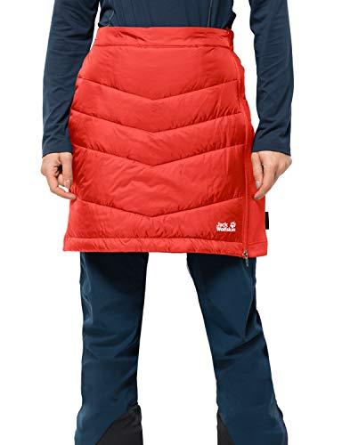 Jack Wolfskin Damen Atmosphere Skirt Women Isolierter Rock, orange Coral, XS