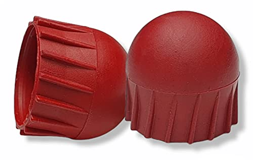 .68 Shaped Paintball Projectiles - Solid Red First Strike Rounds x100