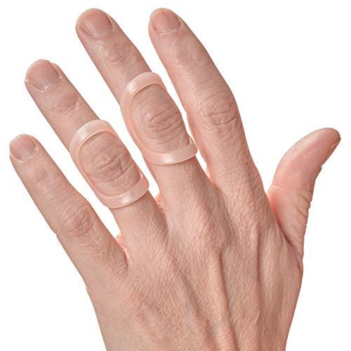 Oval 8   Finger Splint   Finger Schiene   5er Packung (Größe 10   Durchmesser: 6.82cm)