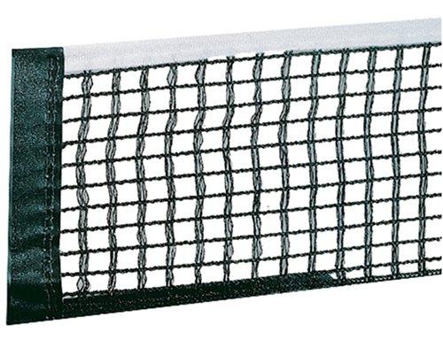 JOOLA Unisex– Erwachsene TT-Netzgarnitur Ersatznetz WM/Europaliga/Spring Tischtennisnetze, schwarz, One-Size