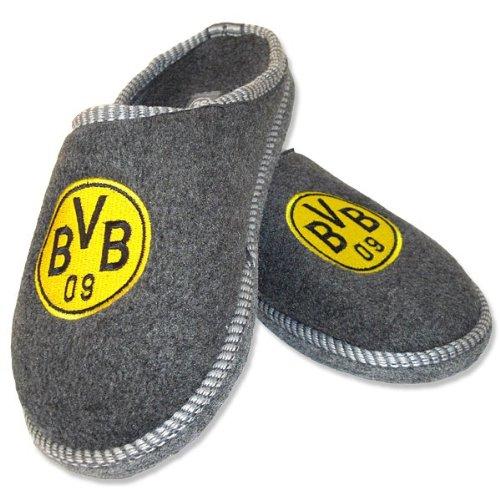 BVB-Filzpantoffel, anthrazit, 42-43