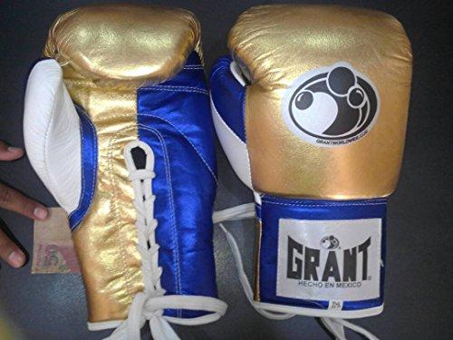 Grant Rays Professionelle Leder-Boxhandschuhe, 450 g, Muay Thai, Kickboxen