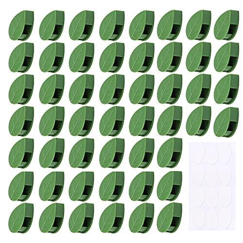 Pflanzenclips Kletterpflanzen Befestigung Clip Rankhilfehalter Kletter-Wandbefestigungs-Clips Pflanzenklammern Kletterpflanzen-Clips Pflanzenstützen Clips Für Gardening Plant Support Fixture 50 Stück