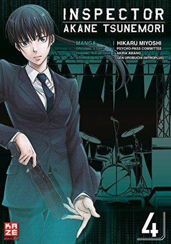 Inspector Akane Tsunemori (Psycho-Pass) – Band 4