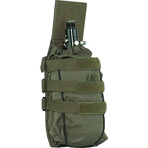 Valken Paintball Tank Vest Pouch Universal, Olive, One Size