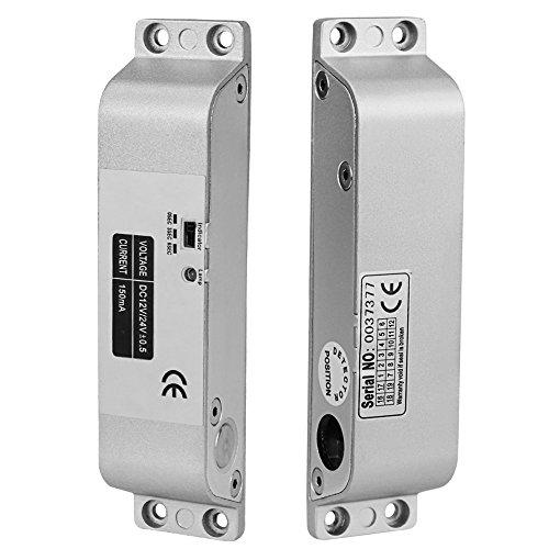 LIBO Elektrische Drop Bolt Lock DC 12 V Fail Safe NC Modus Elektronische Türschloss für Zugangskontrolle Sicherheitssystem mit Zeitverzögerung