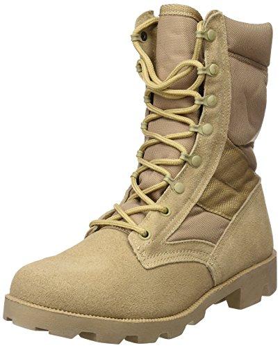 Mil-Tec US Kampfstiefel Speed Lace Desert, Khaki, 41 EU (Herstellergröße: 8)