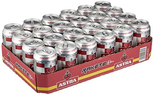 Astra Rakete Biermischgetränk, Bier Dose Einweg (24 x 0.33 L)