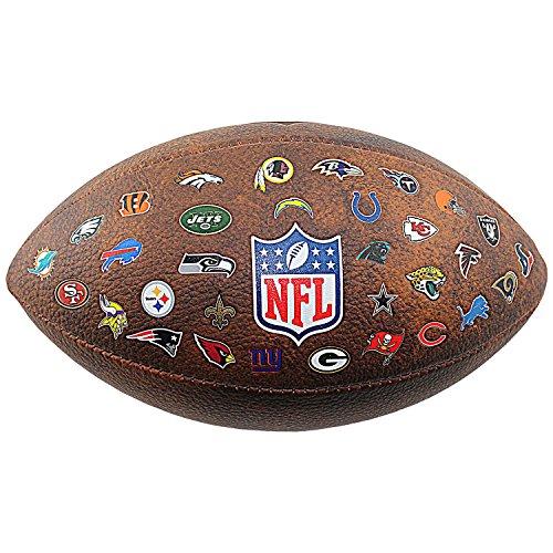 Wilson NFL OFFICIAL THROWBACK 32 TEAM LOGO