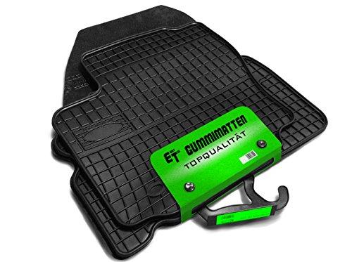 Gummimatten/Fußmatten von Eight Tec passgenau ET_Gummi_PL0403_Golf_5