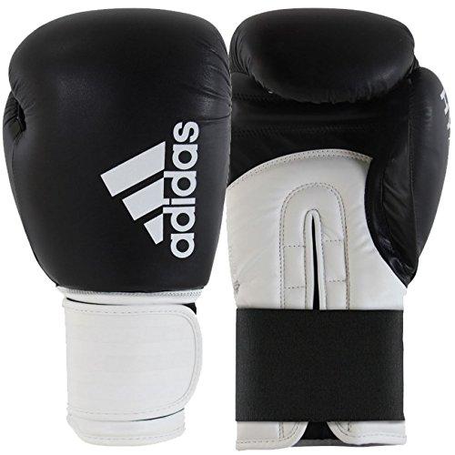 Adidas Hybrid 100Boxhandschuh–schwarz/weiß