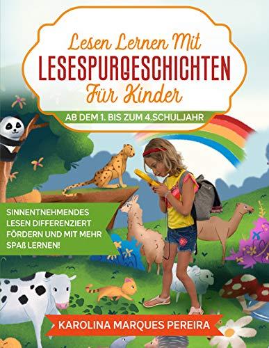 Lesen lernen mit Lesespurgeschichten für Kinder im 1. bis zum 2. Schuljahr