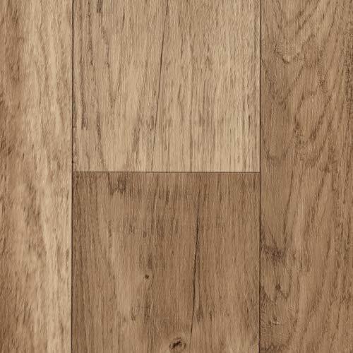 TAPETENSPEZI PVC Bodenbelag Landhausdiele Eiche | Vinylboden als Muster | Fußbodenheizung geeignet | Vinyl Planken strapazierfähig & pflegeleicht | Fußbodenbelag für Gewerbe/Wohnbereich