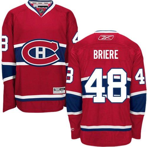 NHL Eishockey Trikot Montreal Canadiens Daniel Briere #48 Jersey Premier (L)