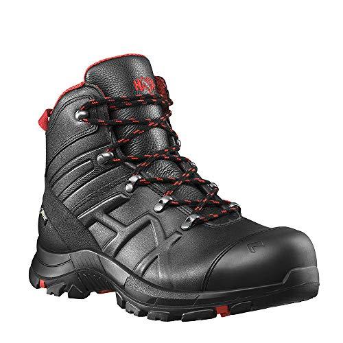 Haix Black Eagle Safety 54 mid Robuste Workwear Sicherheitsschuhe aus besonders dickem Leder. 42