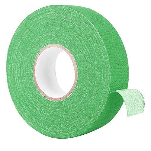 Tennisschläger Griff, Badminton Griffband Elastizität Anti Rutsch Griffband für Badminton Stangen Pads Hockey Stick Bänder, 984 Zoll(Grün)
