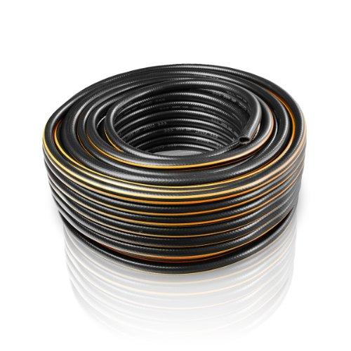 Bradas WFC1/250 Gartenschlauch Carat 1/2 Zoll, 50 m, schwarz