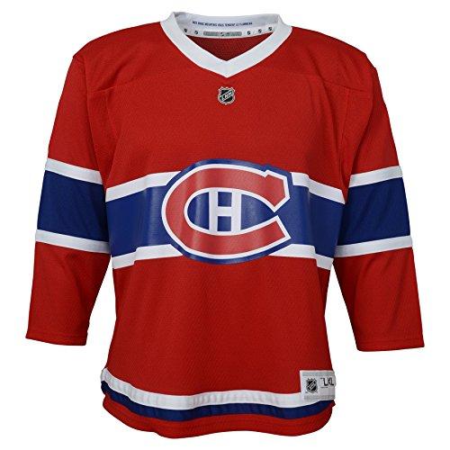 Outerstuff NHL NHL Montreal Canadiens Kinder & Jugendliche Jungen Replik Trikot Home, rot, Jugendliche L/XL (14-18)