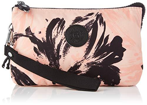 Kipling Damen Creativity XL Reisezubehör-Reisebrieftasche, Koralle/Blume, Einheitsgröße