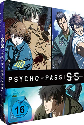Psycho-Pass: Sinners of the System - (3 Movies) - [Blu-ray] - Steelcase