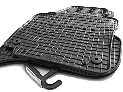 kh Teile Gummimatten passend für Golf PLUS Gummi Fußmatten 4-teilig schwarz