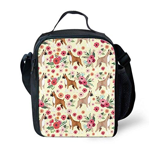 showudesigns Isolierung Heizung Lunch Bag Lebensmittel Picknick Lunch Box für die Outdoor Travel S Boxer