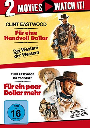 Für eine Handvoll Dollar / Für ein paar Dollar mehr [2 DVDs]